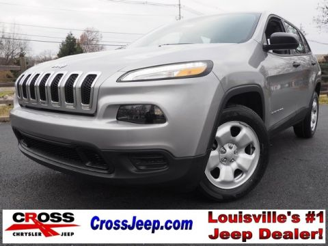 NEW 2017 JEEP CHEROKEE SPORT FWD