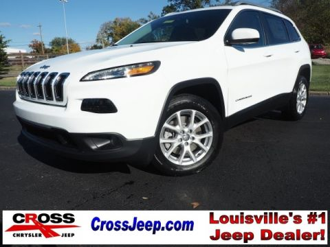 New 2017 Jeep Cherokee Latitude FWD 4D Sport Utility