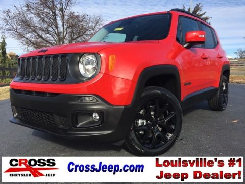 NEW 2017 JEEP RENEGADE ALTITUDE 4X4