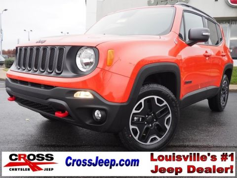 New 2017 Jeep Renegade Trailhawk 4WD