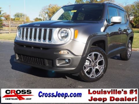 New 2017 Jeep Renegade Limited 4WD