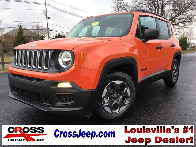 New 2017 Jeep Renegade Sport